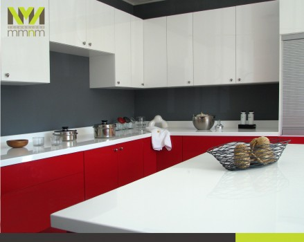 Mmnm technology muebles modulares en m xico - Cocinas rojas y blancas ...